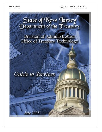 RFP 08-X-39315 Appendix L – OTT Guide to Services