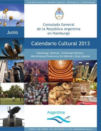 Junio - Consulado General de la República Argentina en Hamburgo
