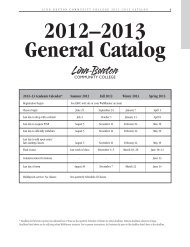 2012–2013 General Catalog - LBCC Paperless Office - Linn-Benton ...