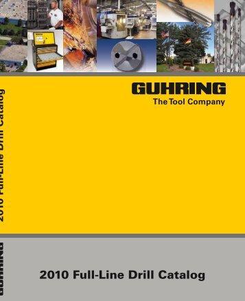 2010 Full-Line Drill Catalog