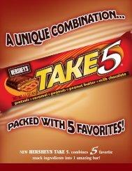 NEW HERSHEY'®S TAKE 5® combines favorite snack ... - Hershey's