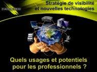 Stratégie de Visibilité sur internet pour les professionnels
