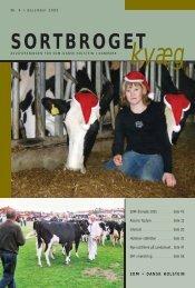 SORTBROGET - Dansk Holstein