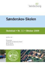 Skoleblad nr 11 oktober 2009 - Sønderskov - Skolen, Sønderborg