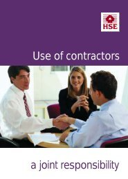 Use of contractors a joint responsibility