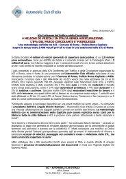 Comunicato 1 su rc-auto - ACI - Automobile Club Ascoli Piceno ...