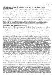 Nella tana del drago», le anomalie narrative di un progetto di ricerca ...