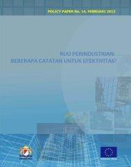 RUU Perindustrian, Beberapa Catatan untuk Efektivitas? - Active