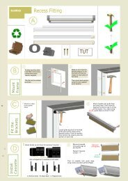 Eco Thermal Recess Fitting Instructions - Merit Blinds