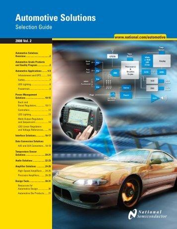 Automotive Solutions (PDF) - Powel.ru