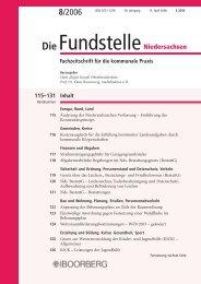 DieFundstelle - Richard Boorberg Verlag