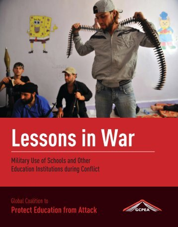 lessons in war