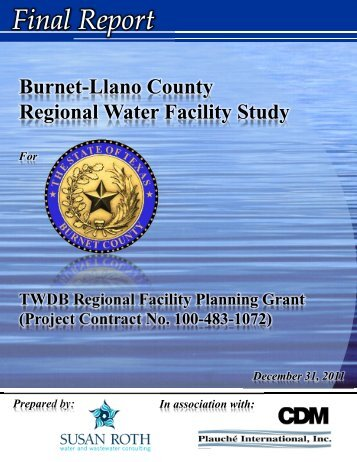Final Report - Burnet County