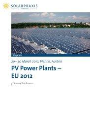 PV Power Plants ? EU 2012 - Eclareon