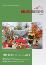 Besser leben, basisch leben - Burgberg