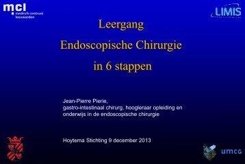 Leergang endoscopische chirurgie, Jean-Pierre Pierie