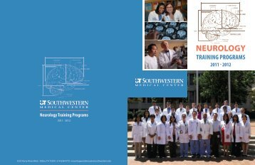 Neurology Training Programs - UT Southwestern