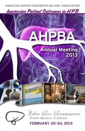 Elijah Dixon, MD - American Hepato-Pancreato-Biliary Association