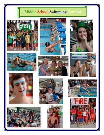 Middle School Swimming Carnival