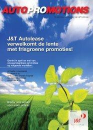 J&T Autolease verwelkomt de lente met frisgroene promoties!