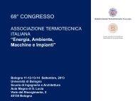 68 congresso Energia, Ambiente, Macchine e Impianti - Ordine degli ...