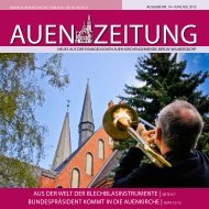 Juni/Juli 2012 - Auenkirche