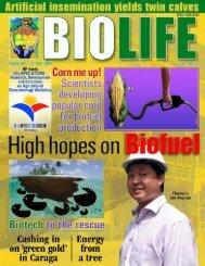 BIOLIFE 1 - DA Biotech Program