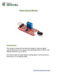 Flame Sensor Module - Arduino Egypt