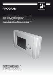 PROGRAM - Soler & Palau Sistemas de Ventilación, SLU