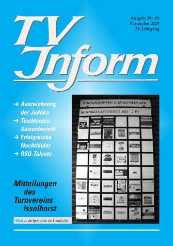TV Inform Nr.79_2 - Turnverein Isselhorst v. 1894 eV