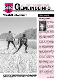 Februar 2006 - Neustift im Stubaital - Land Tirol