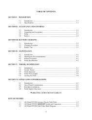 table of contents list of figures - AR - RF Microwave Instrumentation