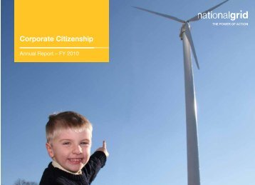 Corporate Citizenship Report - National Grid