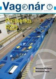 Shimmns ŽS Cargo Investičné akcie - Tatravagónka Poprad