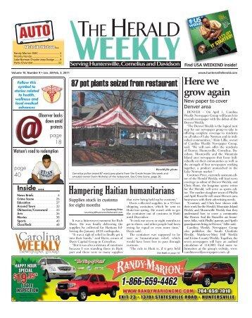 2011 - Carolina Weekly Newspapers
