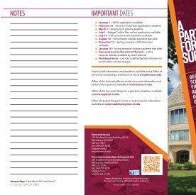 New Student Checklist - University Bursar - Virginia Tech