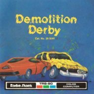 Demolition Derby (Tandy).pdf - TRS-80 Color Computer Archive