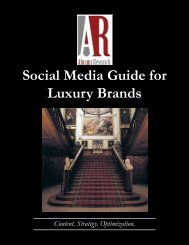 Social Media Guide for Luxury Brands - Vol. 1 - Abrams Research