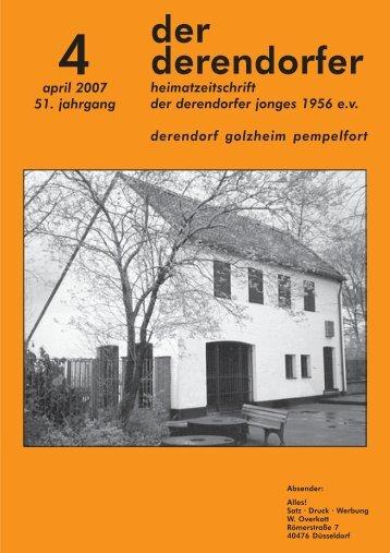 (0211) 44 29 44 Fax: (0211) - heimatverein derendorfer jonges 1956 ...