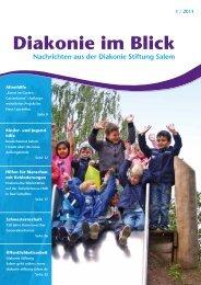 Diakonie im Blick - Diakonie Stiftung Salem
