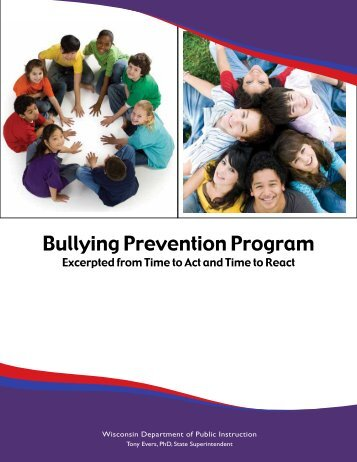Bullying Prevention Program - Student Services / Prevention and ...