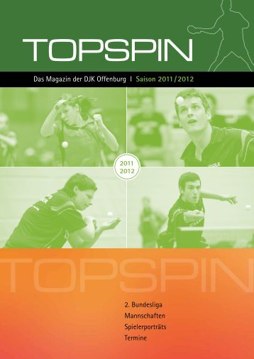 Das Magazin der DJK  Offenburg I Saison 2011 / 2012