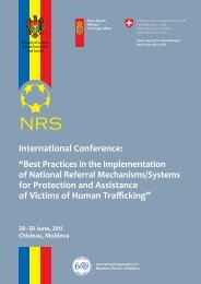 "International Conference: ""Best Practices in the ... - IOM Moldova"