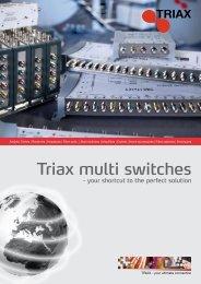 Triax multi switches