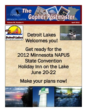 April 2012 - Minnesota NAPUS