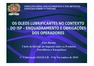 Apresentação do Dr. Luís Barata