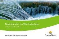 Netzintegration von Windkraftanlagen - Bernfried Hug