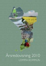 Årsredovisning 2010.pdf - Lomma kommun