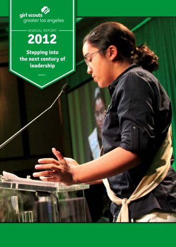 2012 Annual Report - Girl Scouts of Greater Los Angeles