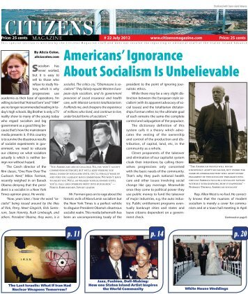 Americans' Ignorance About Socialism Is Unbelievable